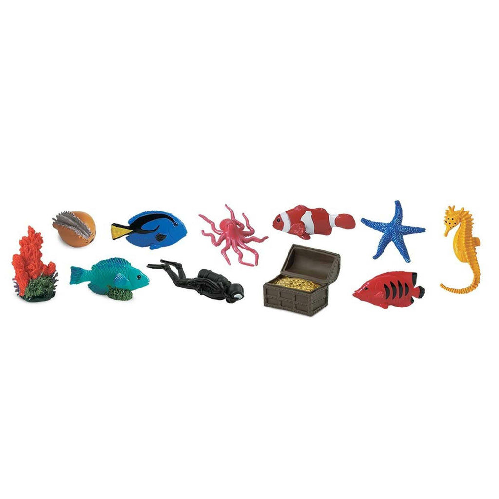 Coral Reef Toob Mini Figures Safari Ltd - Radar Toys