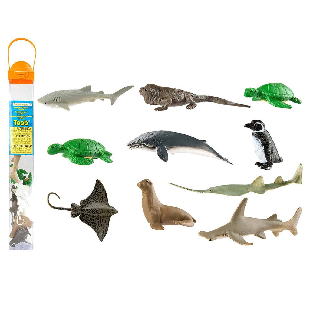 Endangered Species Marine Species Toob Mini Figures Safari Ltd