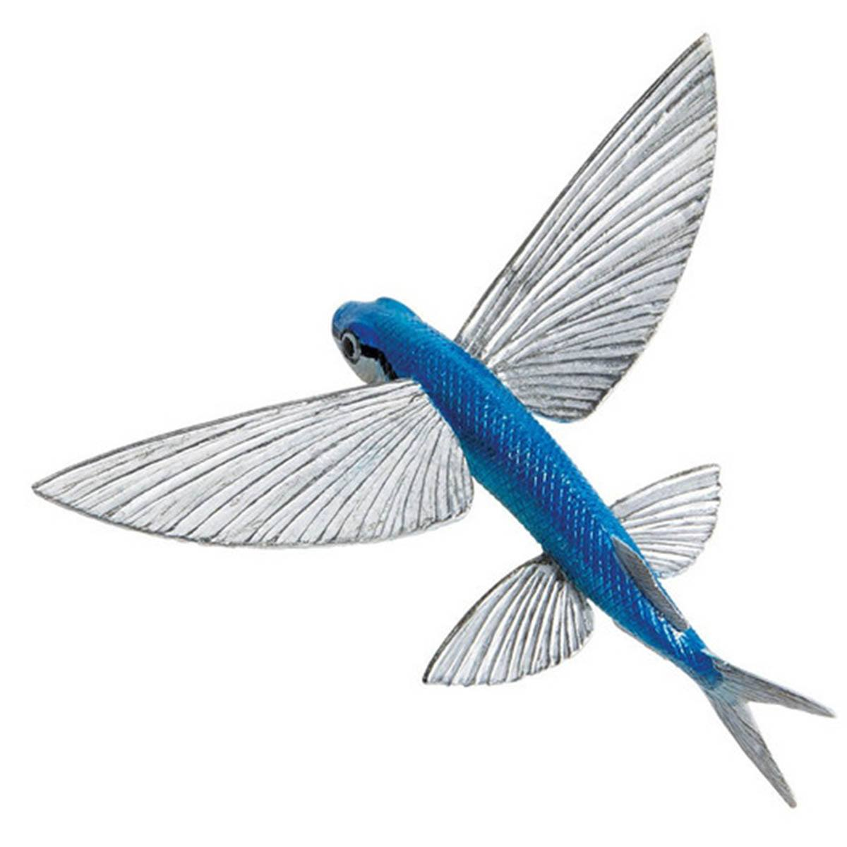 Flying Fish Incredible Creatures Figure Safari Ltd Radar