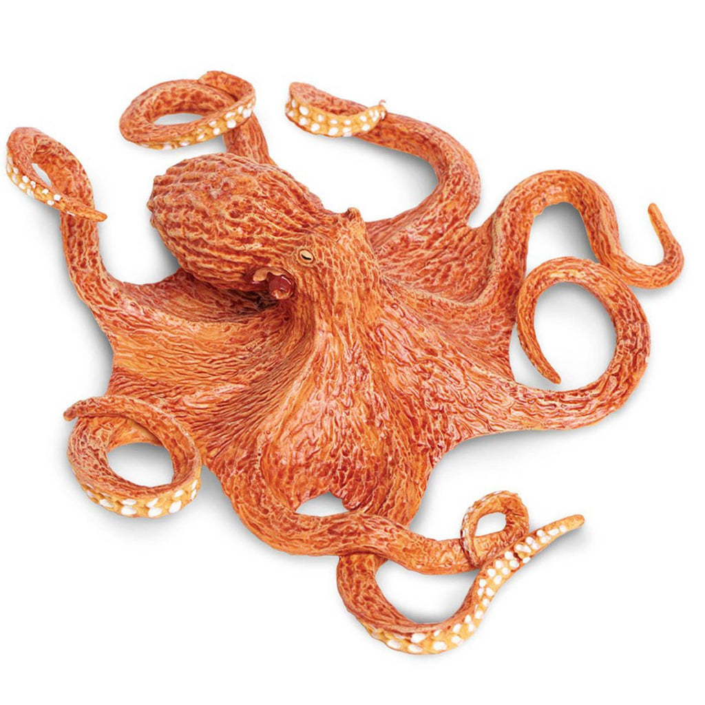 Giant Pacific Octopus Incredible Creatures Figure Safari Ltd - Radar Toys