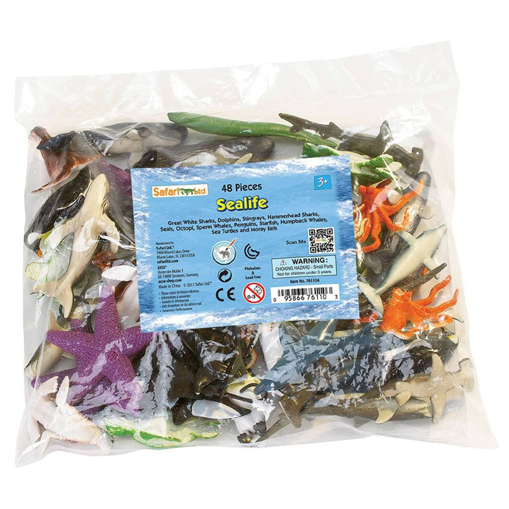Sea Life Bulk Bag Mini Figures Safari Ltd - Radar Toys