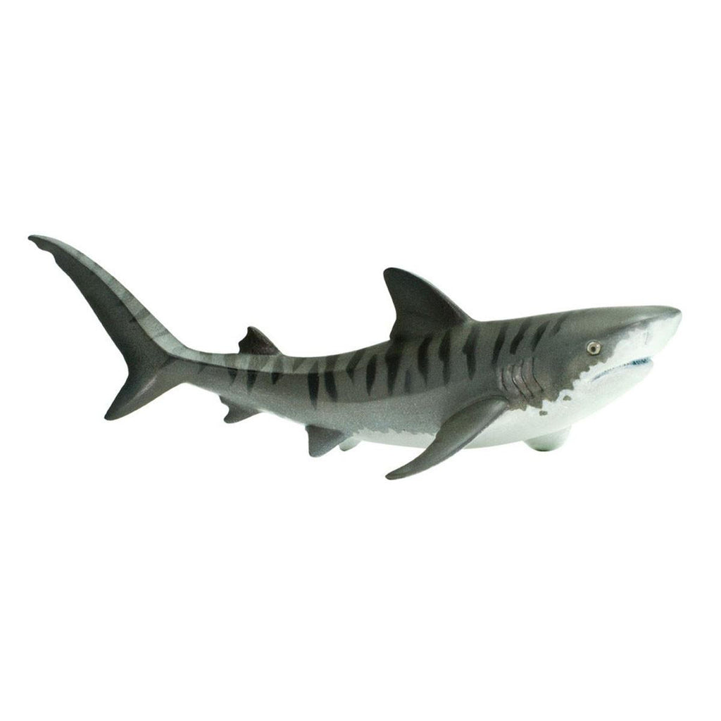 Tiger Shark Dark Blue Sea Life Figure Safari Ltd - Radar Toys