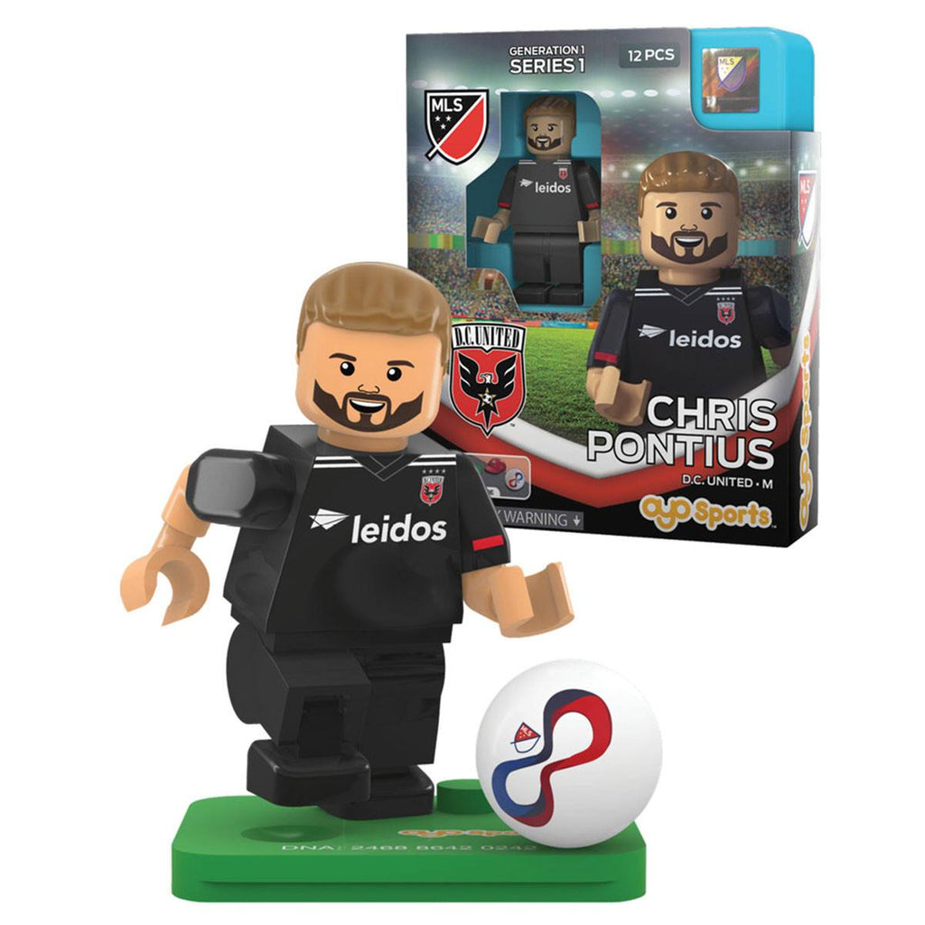 MLS D.C. United Chris Pontius G1S1 OYO Mini Figure