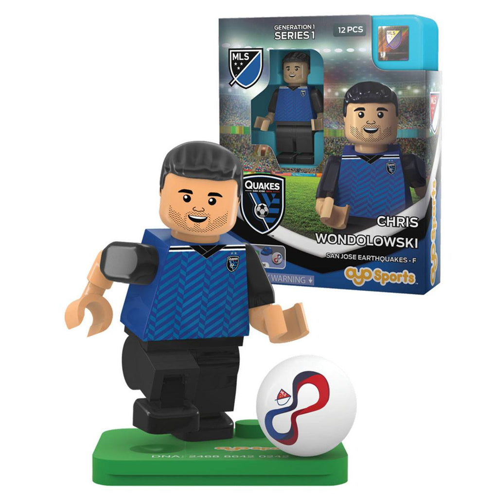MLS San Jose Earthquakes Chris Wondolowski G1S1 OYO Mini Figure