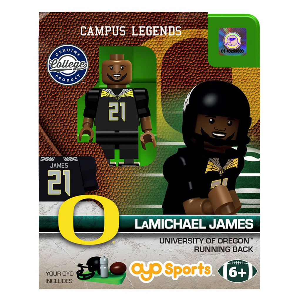 NCAA Oregon Ducks LaMichael James Campus Legends OYO Mini Figure