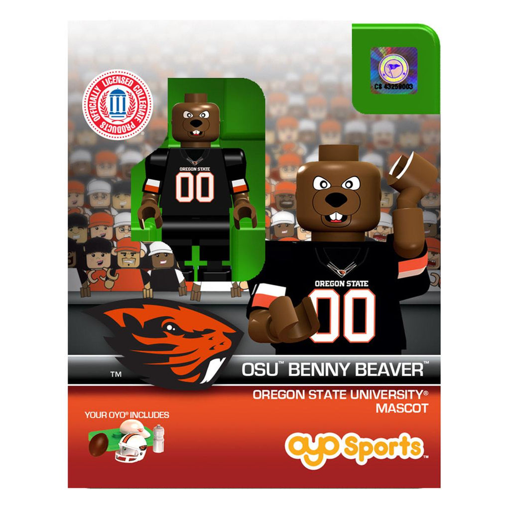 NCAA Oregon State Beavers Mascot Benny OYO Mini Figure