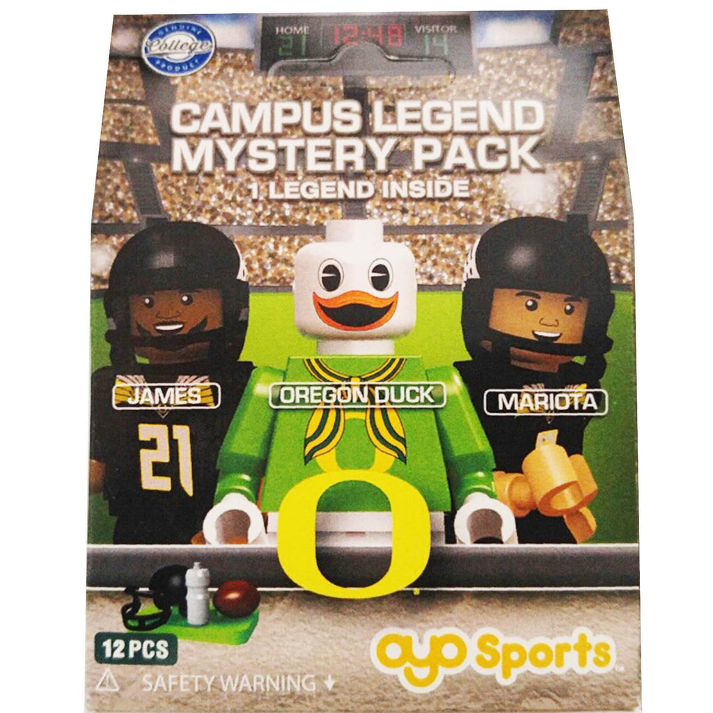 NCAA University Of Oregon Ducks Mystery Blind Pack Mini Figure