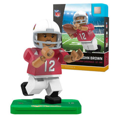 NFL Arizona Cardinals John Brown G4S2 OYO Mini Figure - Radar Toys