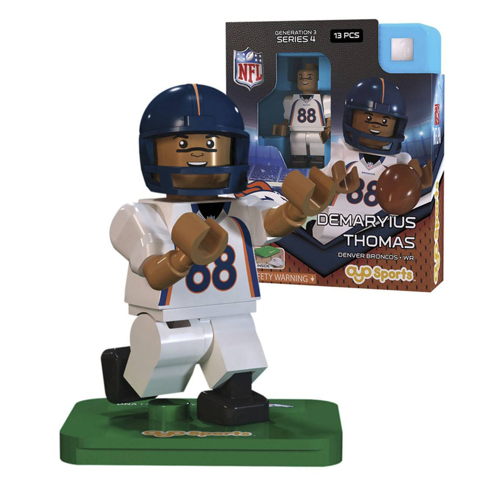 NFL Denver Broncos Demaryius Thomas G3S4 OYO Mini Figure