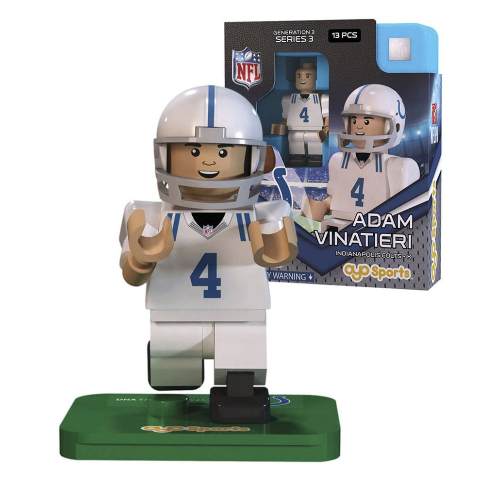 NFL Indianapolis Colts Adam Vinatieri G3S3 OYO Mini Figure