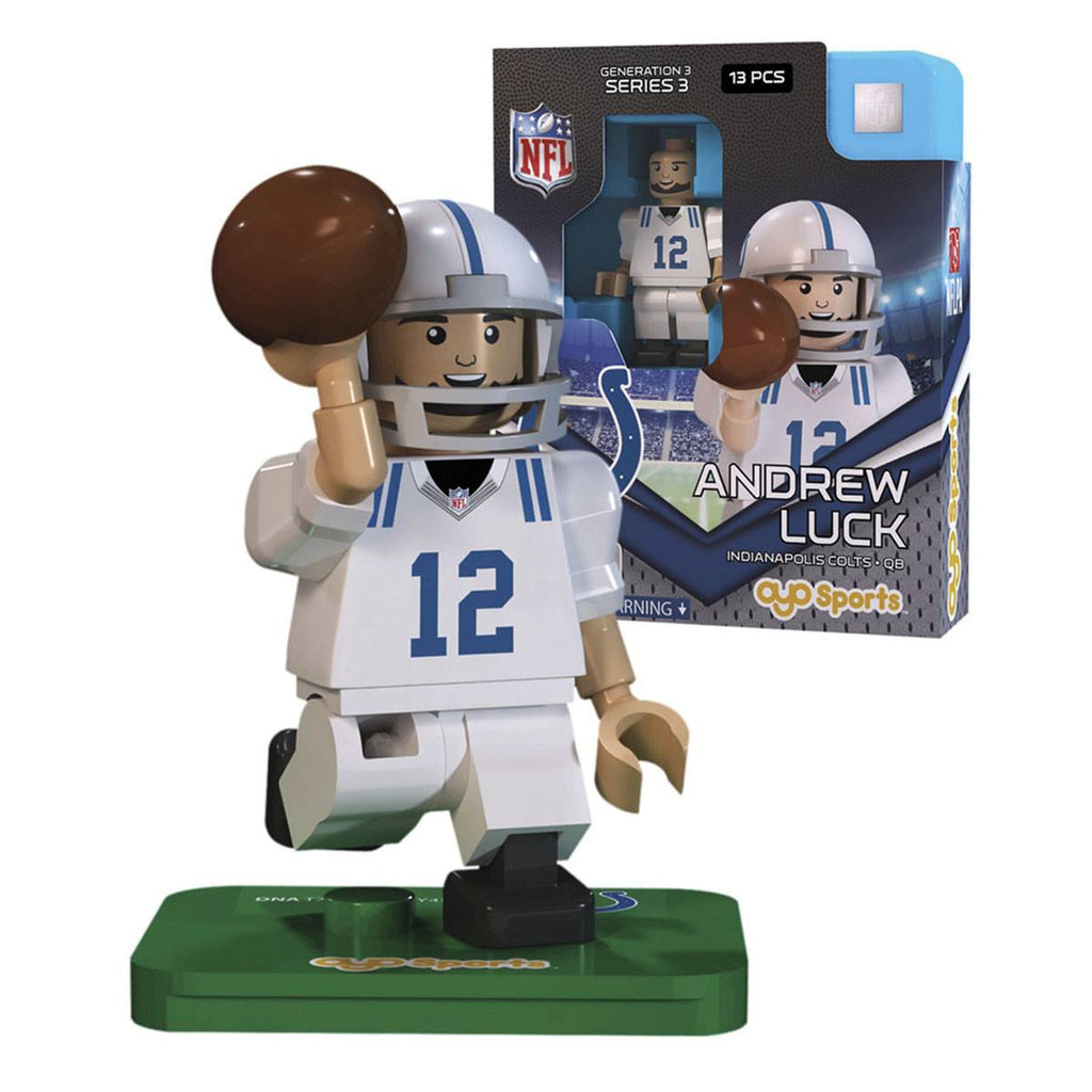 NFL Indianapolis Colts Andrew Luck G3S3 OYO Mini Figure