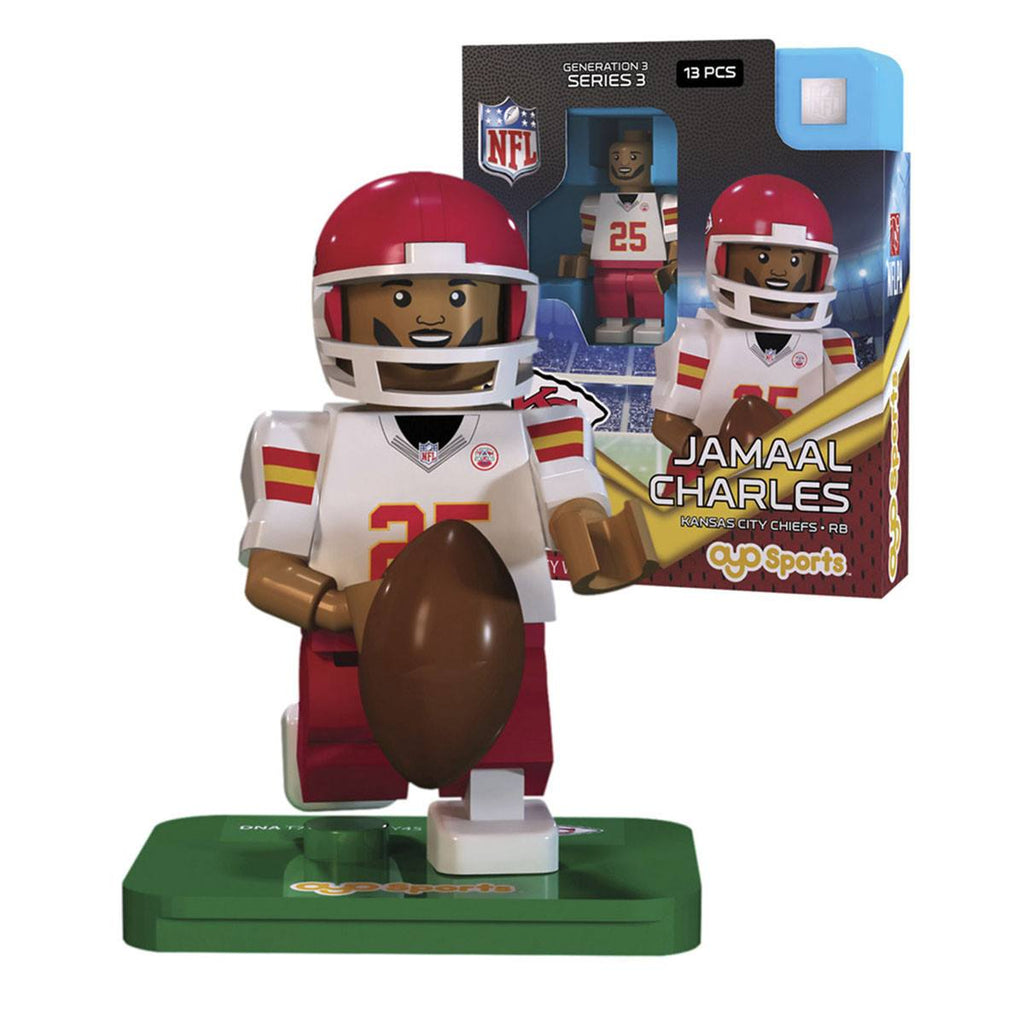 NFL Kansas City Chiefs Jamaal Charles G3S3 OYO Mini Figure