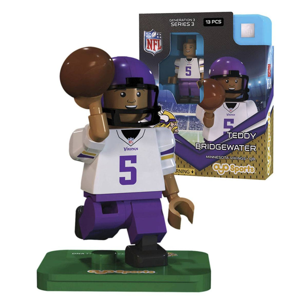 NFL Minnesota Vikings Teddy Bridgewater G3S3 OYO Mini Figure