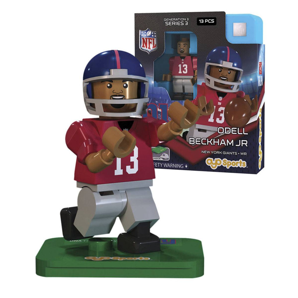 NFL New York Giants Eli Manning G3S4 OYO Mini Figure