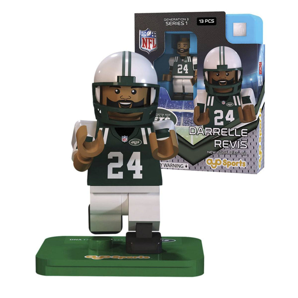 NFL New York Jets Darrelle Revis G3S1 OYO Mini Figure - Radar Toys