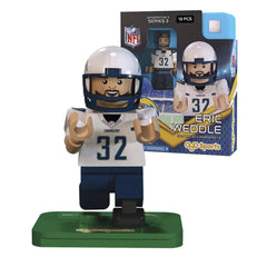 NFL San Diego Chargers Eric Weddle G3S3 OYO Mini Figure - Radar Toys
