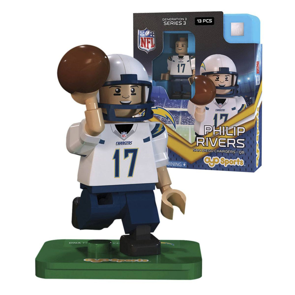 NFL San Diego Chargers Philip Rivers G3S3 OYO Mini Figure