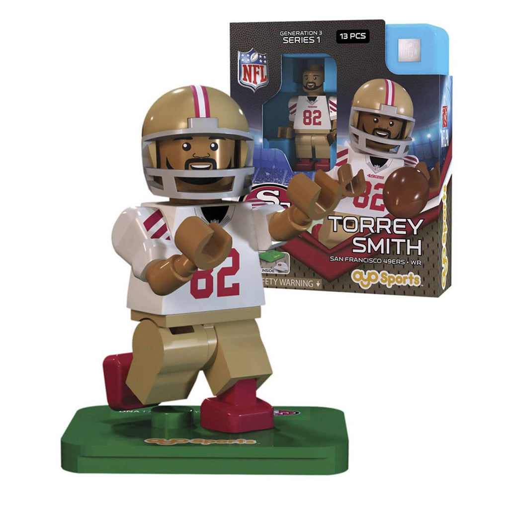 NFL San Francisco 49ers Torrey Smith G3S1 OYO Mini Figure
