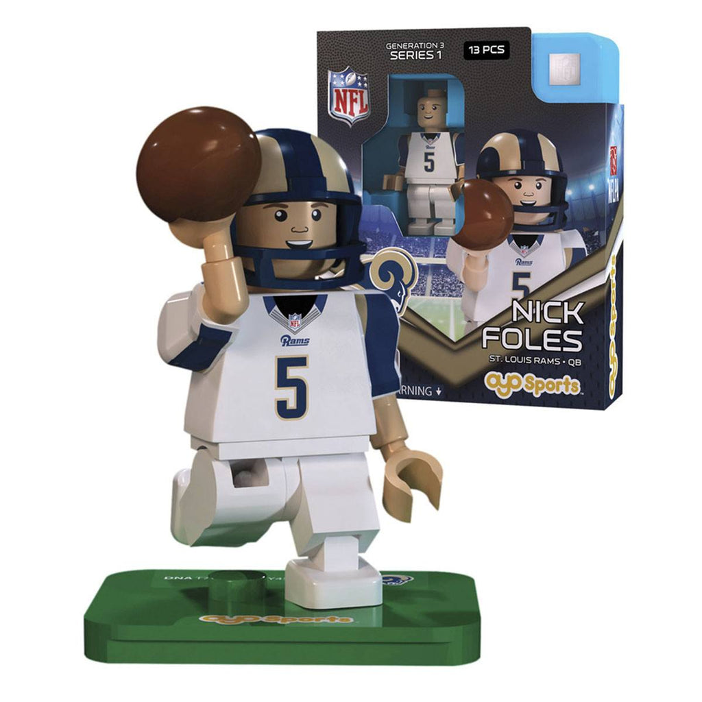 NFL St. Louis Rams Nick Foles G3S1 OYO Mini Figure