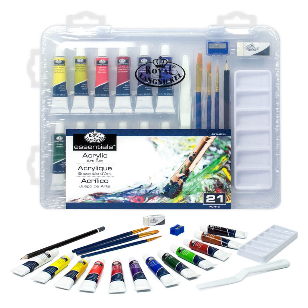 Painting - Royal Brush Essentials 21 Piece Case Art Set