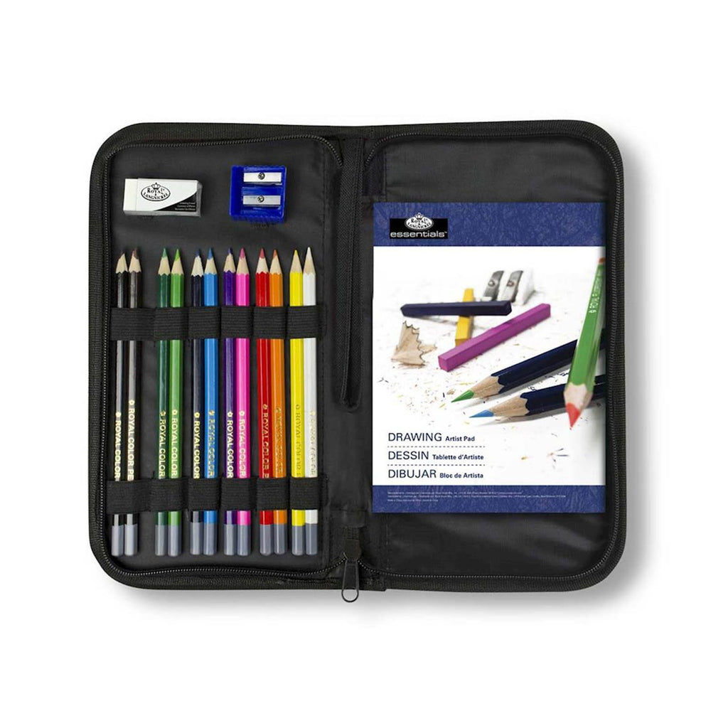 Pencils - Royal Brush Essentials Drawing 16 Piece Art Set