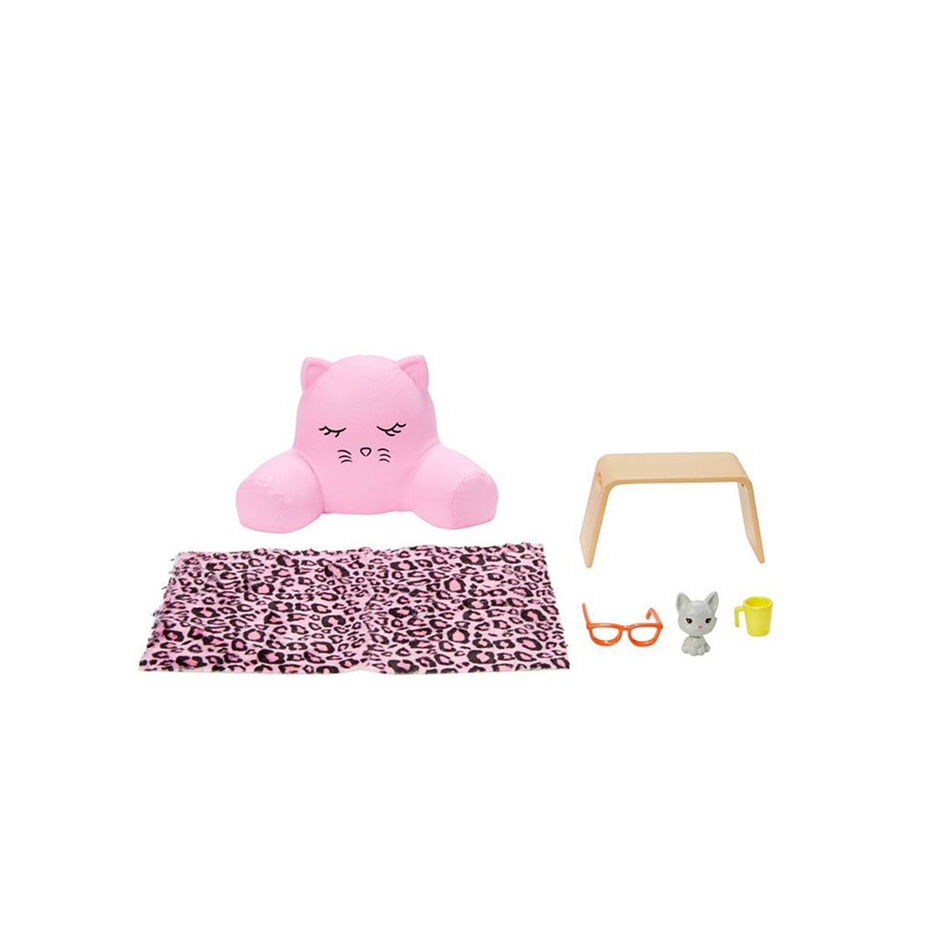 Barbie Pet Lounge Cat Pillow Accessory Set