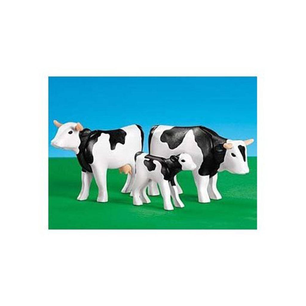 Playmobil 2 Cows With Calf Building Set 7892