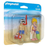 Playmobil - Playmobil Beachgoers Building Set 9449