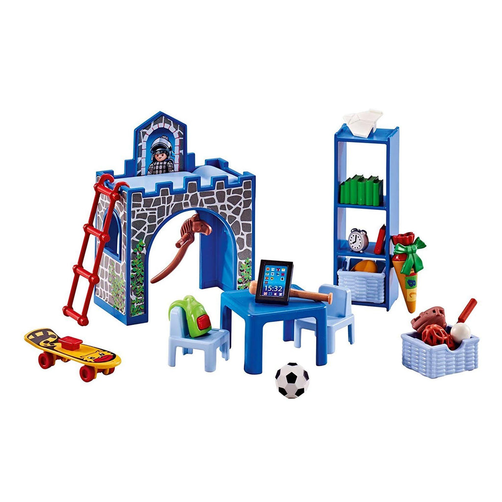 Playmobil Boy's Room Or Kid's Room Building Set 6556