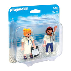 Playmobil - Playmobil City Action Cruise Ship Officers Building Set 9216