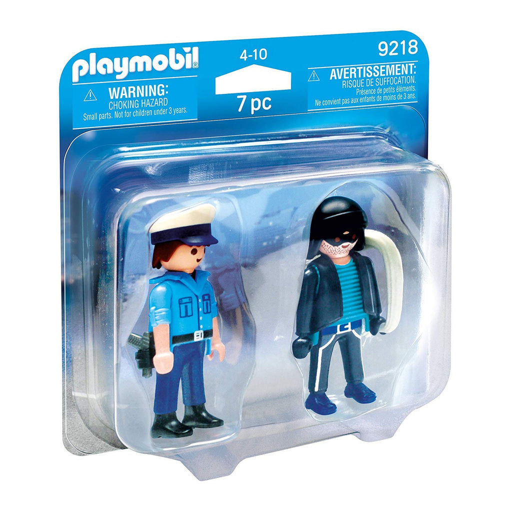 Playmobil City Action Policeman and Burglar Building Set 9218
