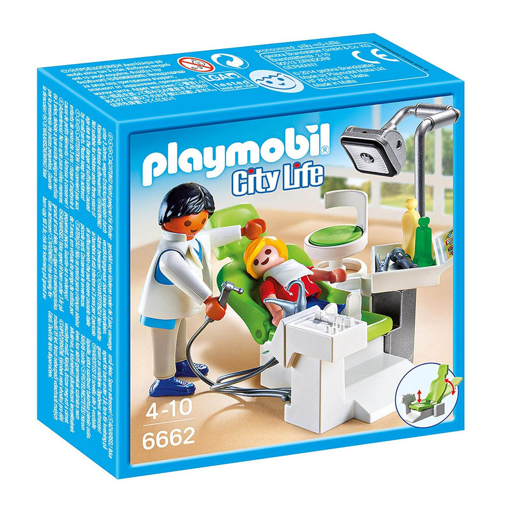 Playmobil City Life Dentist With Patient Building Set 6662
