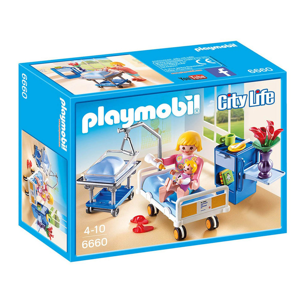 Playmobil City Life Maternity Room Building Set 6660