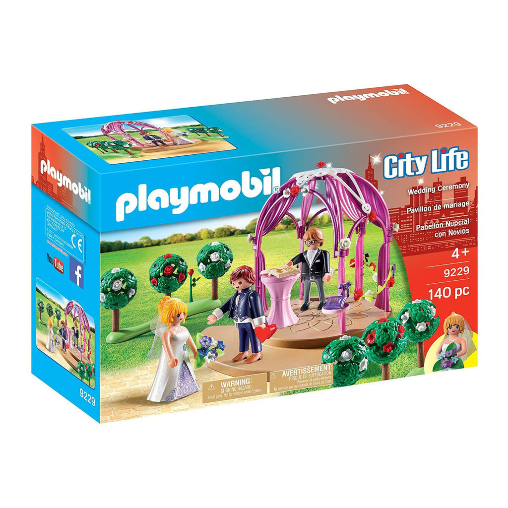 Playmobil City Life Wedding Ceremony Building Set 9229