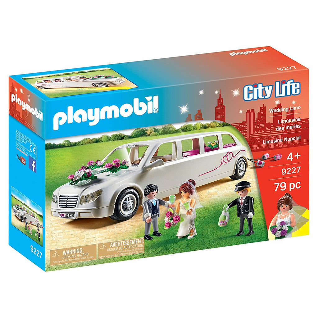 Playmobil City Life Wedding Limo Building Set 9227