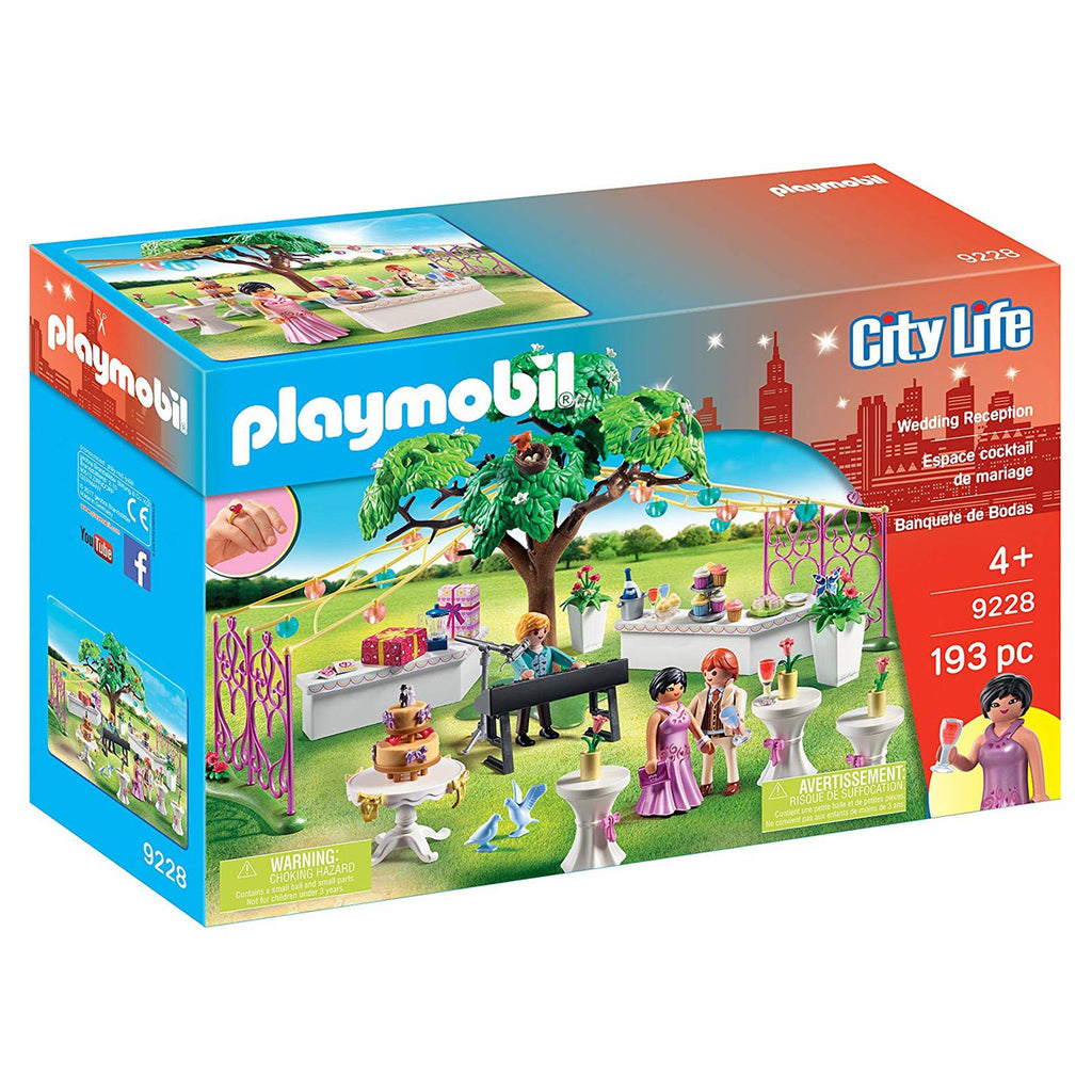 Playmobil City Life Wedding Reception Building Set 9228
