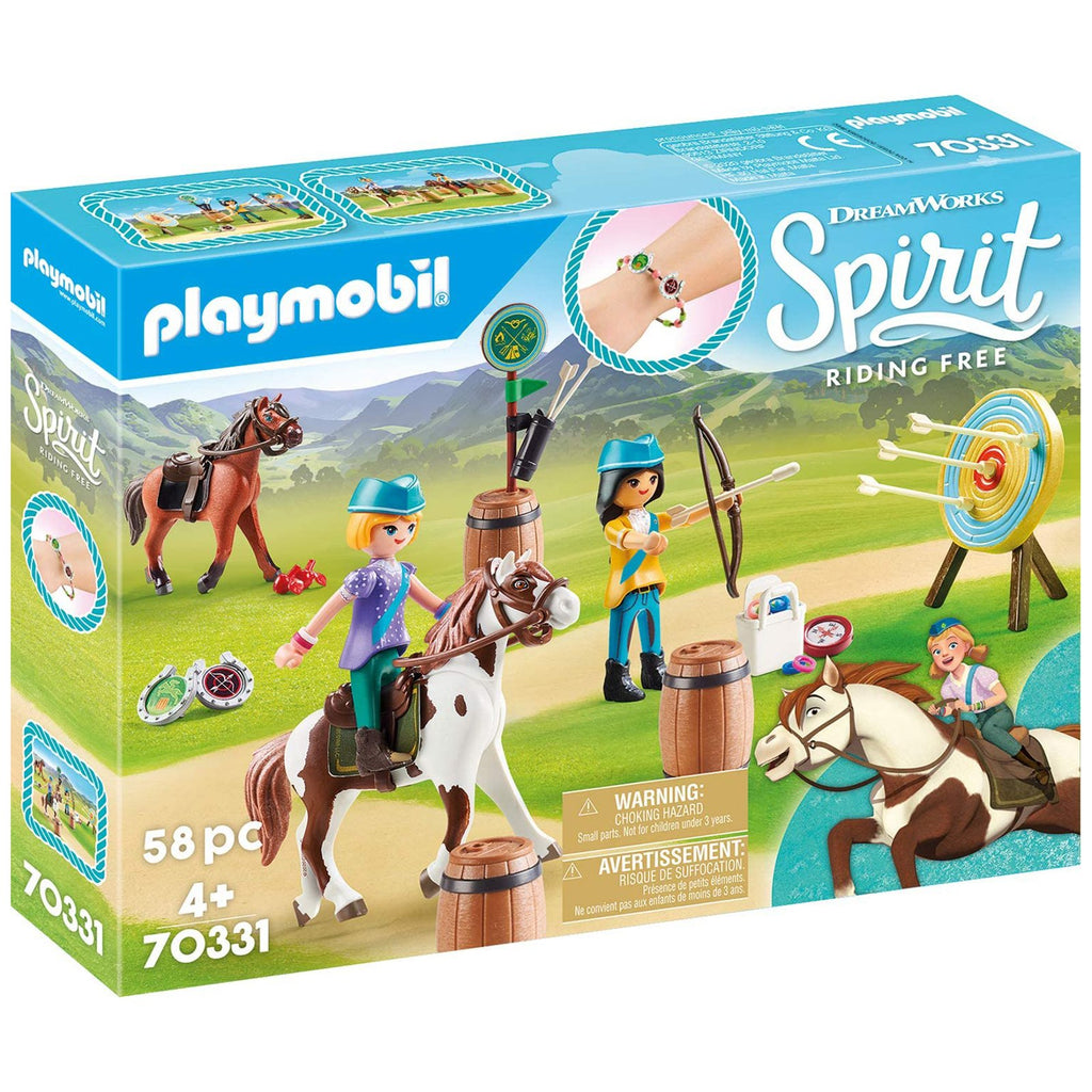 Playmobil DreamWorks Spirit Outdoor Adventure Building Set 70331