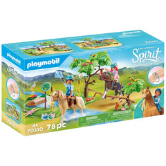 Playmobil - Playmobil DreamWorks Spirit River Challenge Building Set 70330