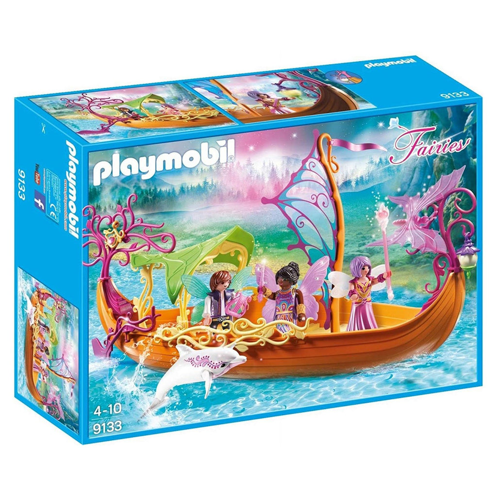 Playmobil Fairies Enchanted Fairy Ship Building Set 9133