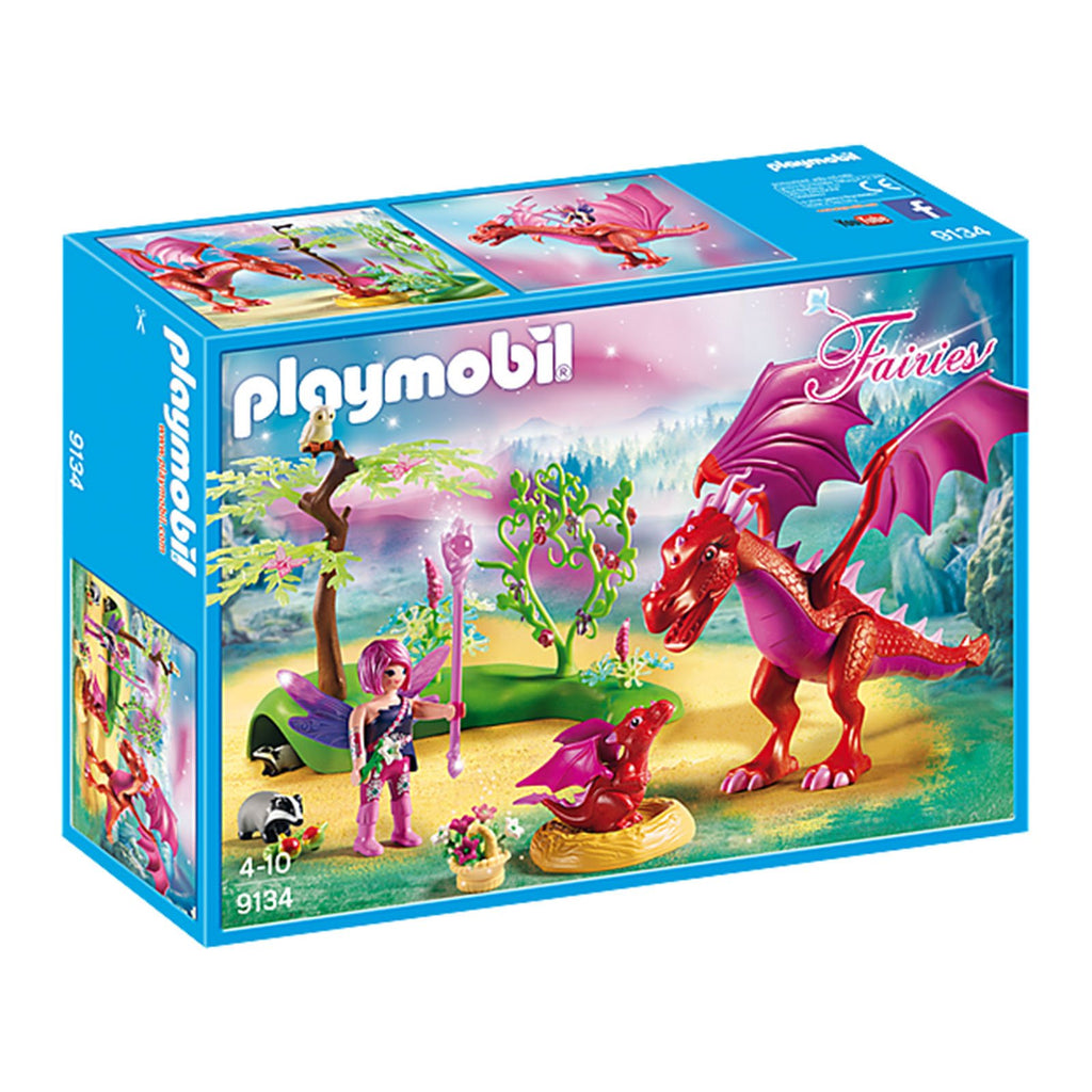 Playmobil Fairies Friendly Dragon With Babies Building Set 9134