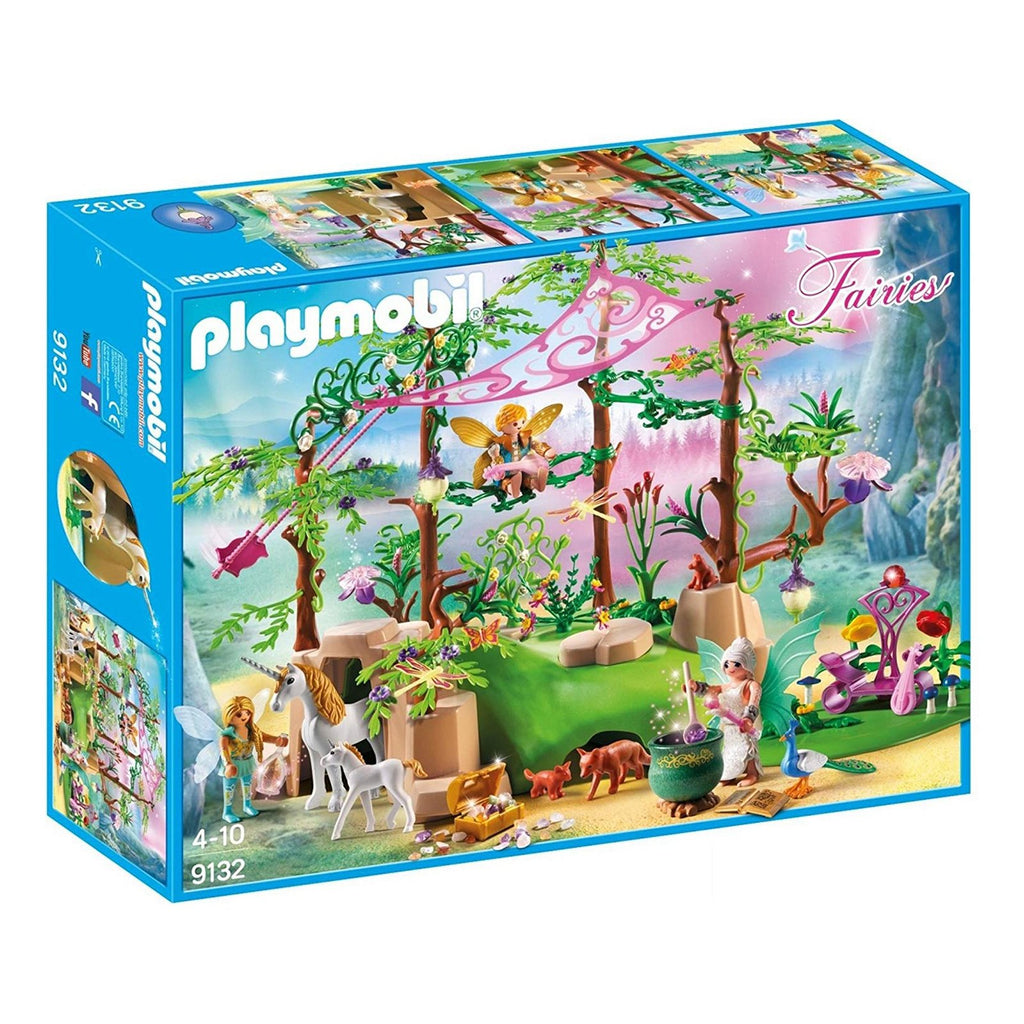 Playmobil Fairies Magical Forest Building Set 9132