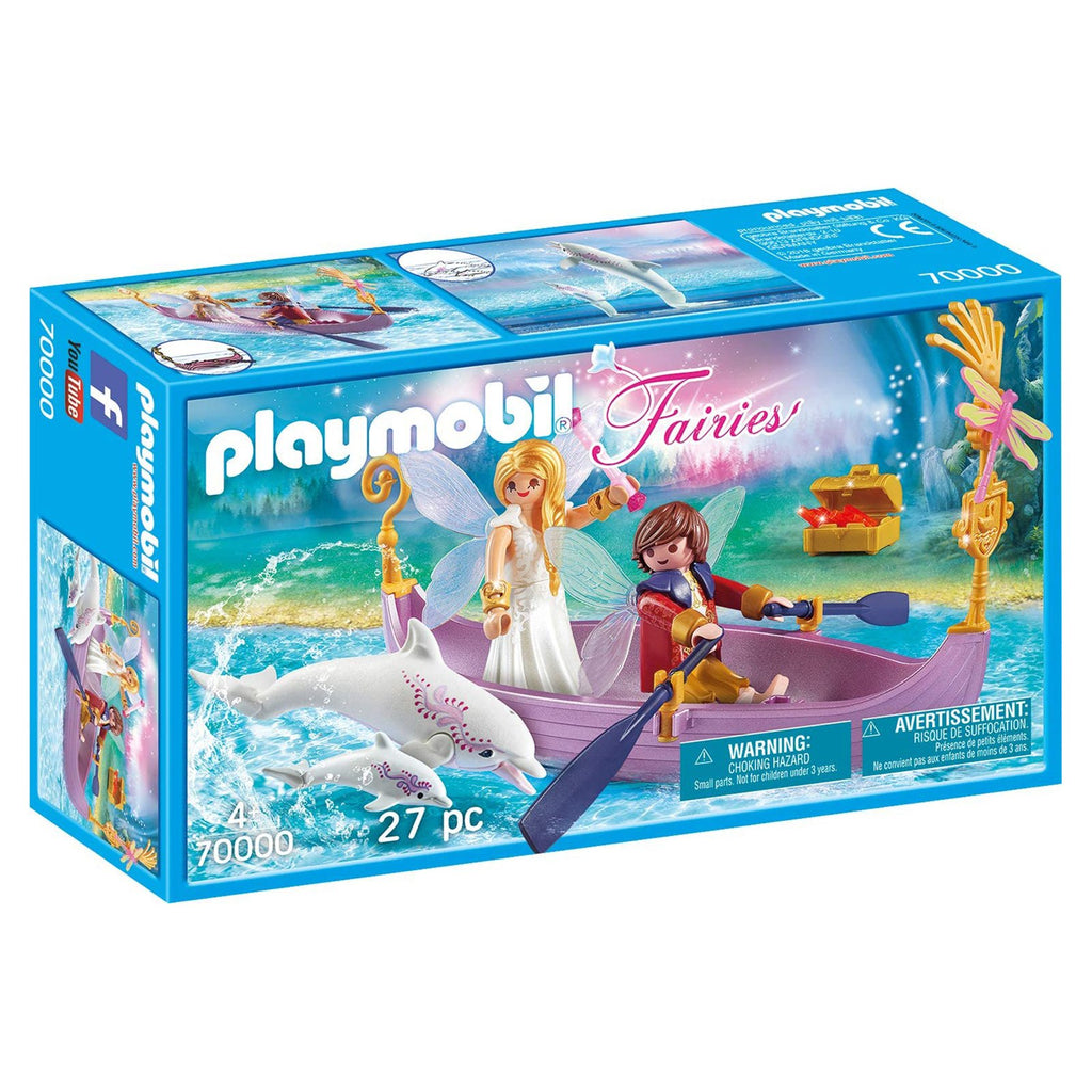 Playmobil Fairies Romantic Fairy Boat Building Set 70000