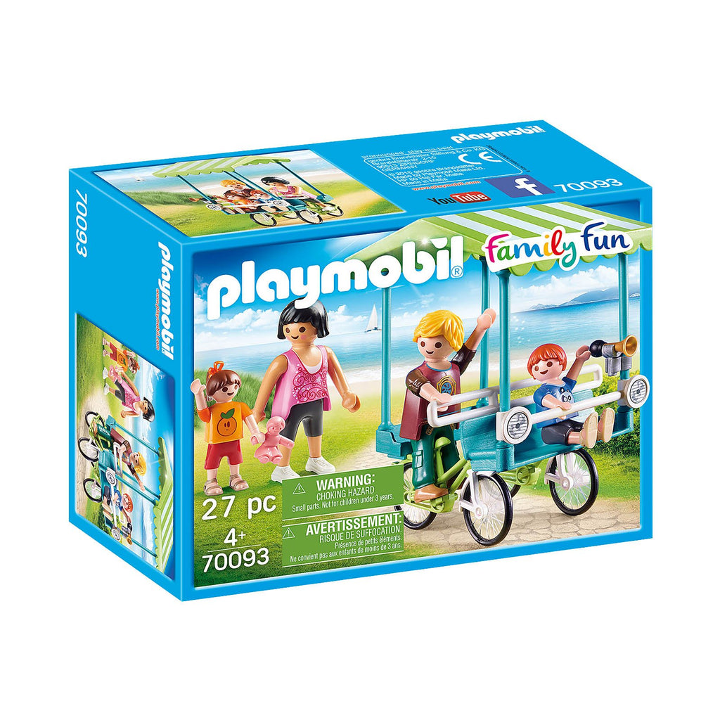Playmobil Family Fun Family Bicycle Building Set 70093