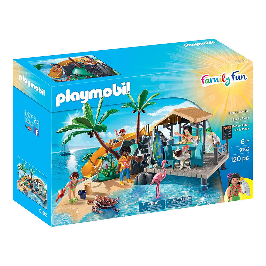 Playmobil Family Fun Island Juice Bar Building Set 9162