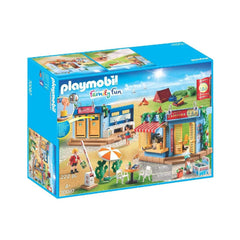 Playmobil - Playmobil Family Fun Large Campground Building Set 70087