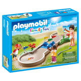 Playmobil - Playmobil Family Fun Mini Golf Building Set 70092