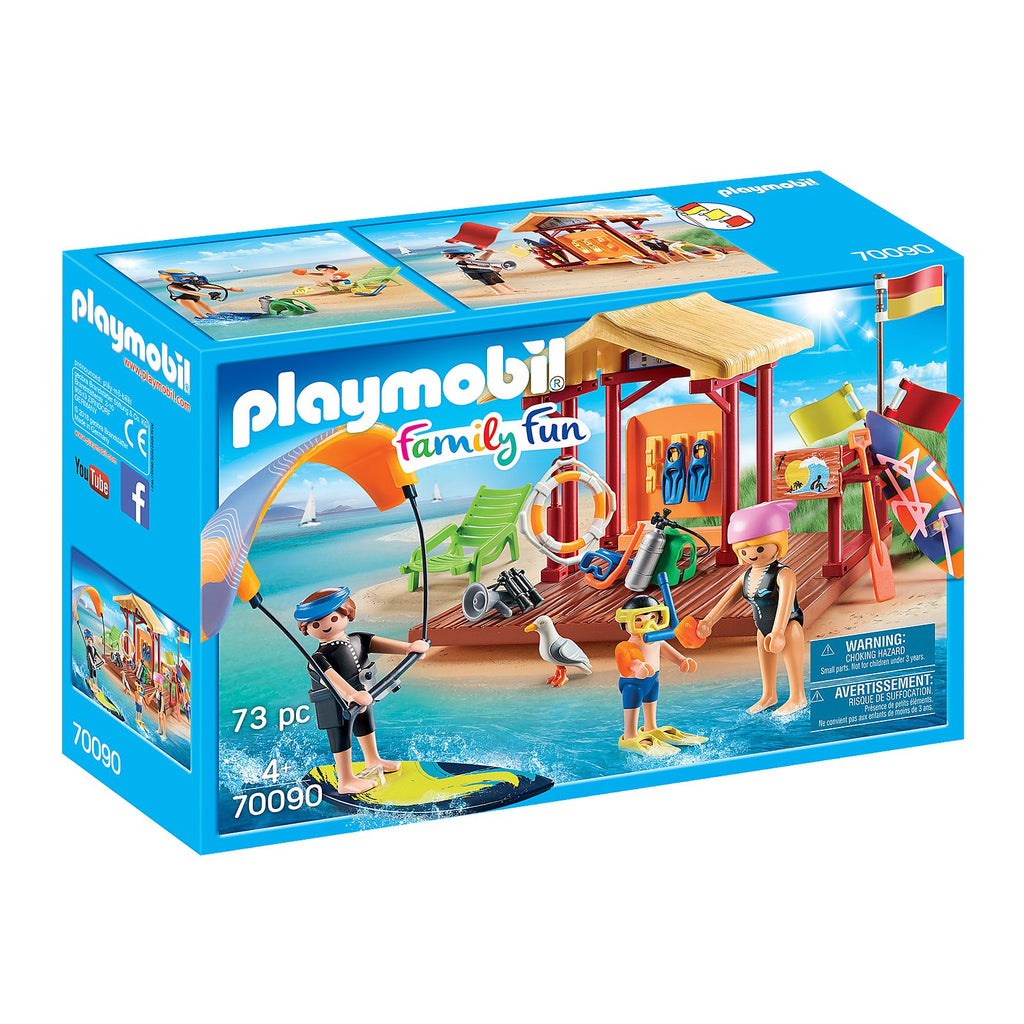 Playmobil Family Fun Water Sports Lesson Building Set 70090