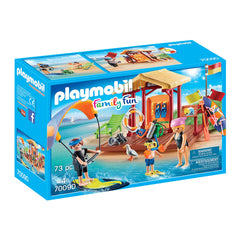 Playmobil - Playmobil Family Fun Water Sports Lesson Building Set 70090