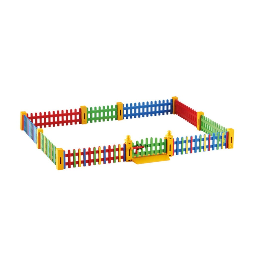 Playmobil Fence Extension For Sunshine Preschool Building Set 6387