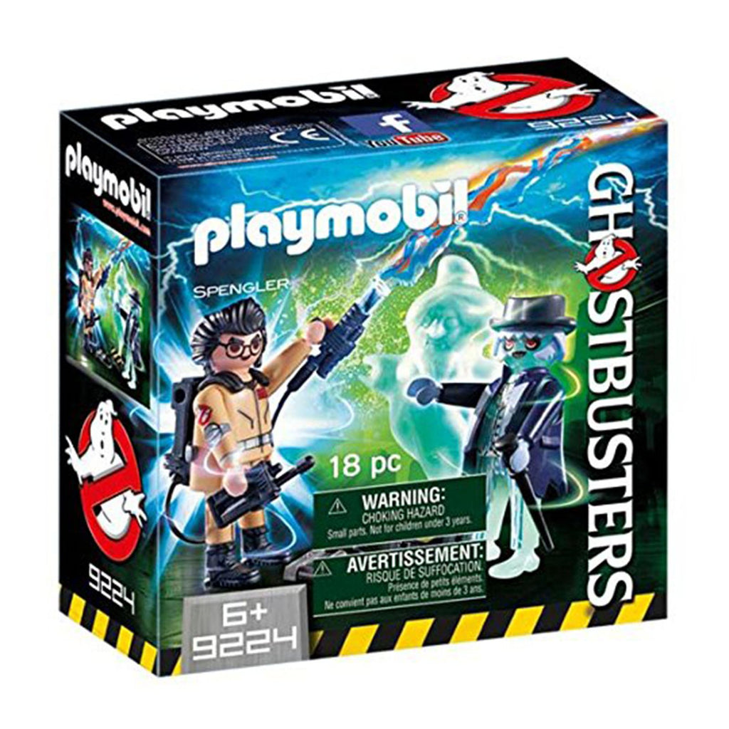Playmobil Ghostbusters Spengler and Ghost Building Set 9224